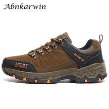 Унисекс треккинговые ботинки для мужчин Спорт на открытом воздухе восхождение горный туризм для женщин Нескользящие дышащие
