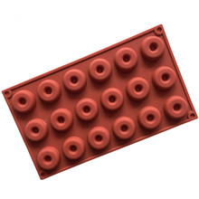 18-piece silicone donut mold biscuit chocolate home baking cake