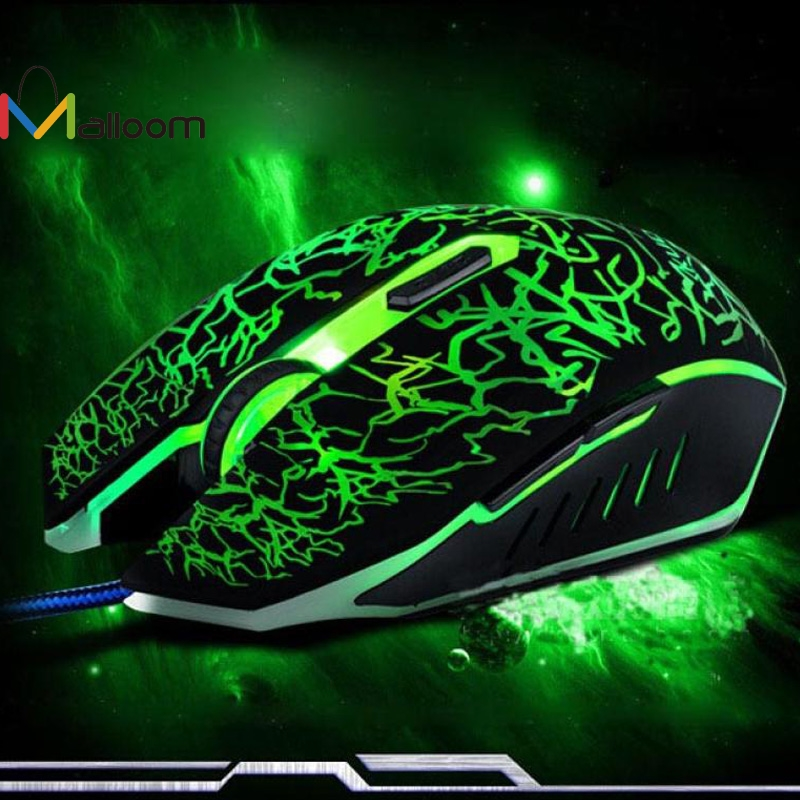 Malloom 2018 New Arrival Professional Gaming Mouse 4000dpi 6bottons Usb Wired Mouse Computer Mouse For Dota 2 For Computer Be Friendly In Use