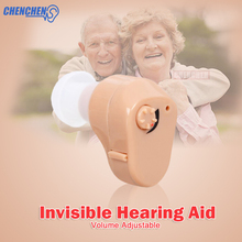 лучшая цена Convenient Adjustable Hearing AID Inner Ear Wireless Hearing AIDS Amplifier Invisible Audifono Ear Care