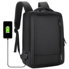 Bolsa de viaje de negocios resistente al agua con carga USB, mochila multifunción antirrobo para ordenador portátil de 14 y 15,6 pulgadas, mochilas escolares para niños