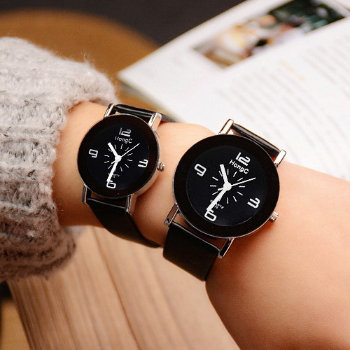 YAZOLE Brand Lovers Watch Women Men Clock Couple Wrist Watches For Love Ladies F