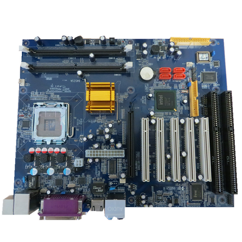 5  Pcs 945 Industrial Ddr2 Motherboard Socket 775 Motherboard With 2*ISA And 5*PCI Slots Support Intel Chipset