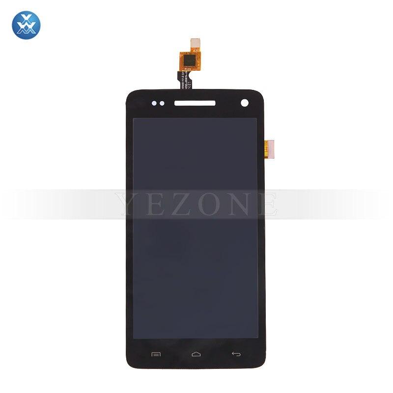 על Wiko קשת 4G LCD החלפת המקורי באיכות תצוגת LCD מסך מגע דיגיטלית זכוכית מלאה pantalla שחור 5 אינץ