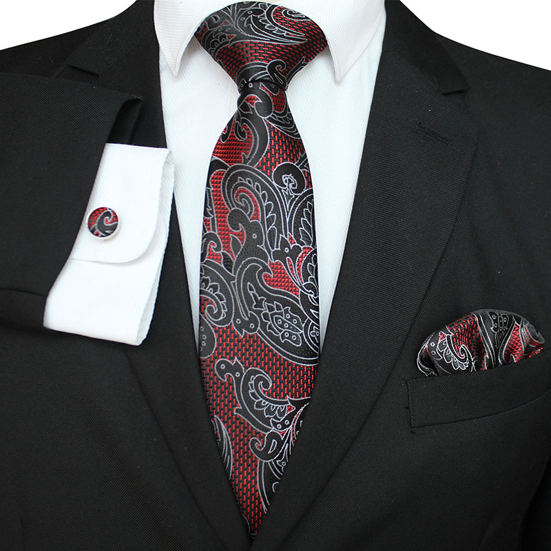 Extra long size 148*8cm Floral Ties 8cm Mens Tie Silk ...
