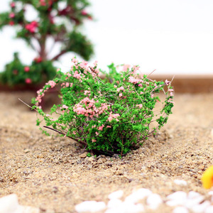 Artificial Bush Flower Miniature Fairy Garden Home Houses Decoration Mini Craft Micro Landscaping Decor DIY Accessories(China)