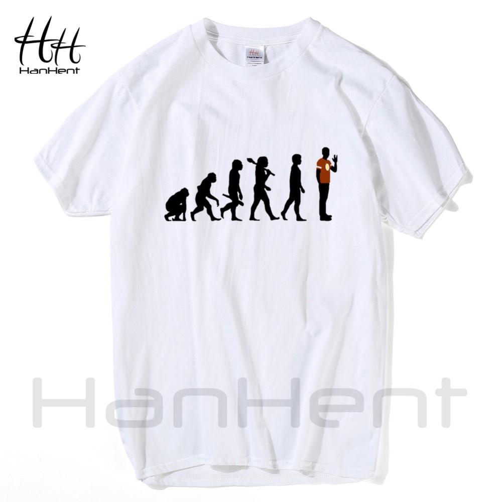 HanHent The Big Bang Theory T-shirts Men Funny Cotton Short Sleeve O-neck Tshirts Fashion Summer Style Fitness Brand T shirts 15