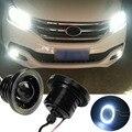 2 шт./лот 3.5 дюймов 89 мм 30 Вт Halo Противотуманные Фары COB Angel Eyes Лампы Супер Белый 1200Lm Дневные дневного Света Автомобиля DRL