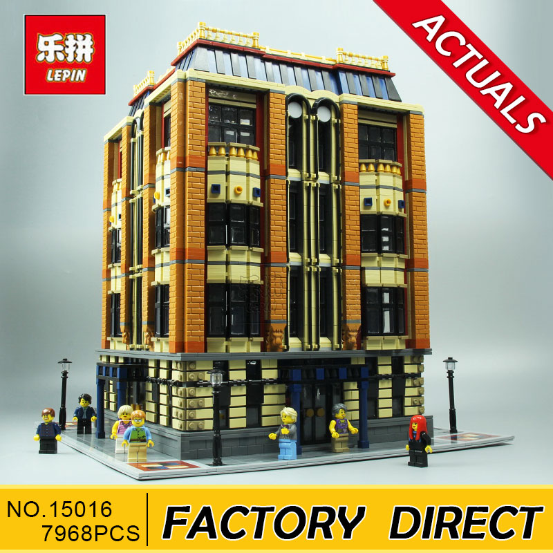 Lepin 15016 Genuine MOC Series The Apple University Set Building Blocks Bricks Educational Children Toys new 7968pcs lepin 15016 moc creative series the apple university set building blocks bricks educational children gifts toys