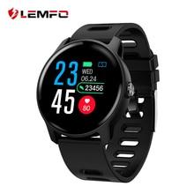LEMFO S08 Smart Watch IP68 Waterproof Heart Rate Monitor Blo