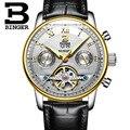 BINGER/2016 часы мужские роскошные Лидирующий бренд tourbillon механические часы модные деловые спортивные повседневные наручные часы relogio masculino