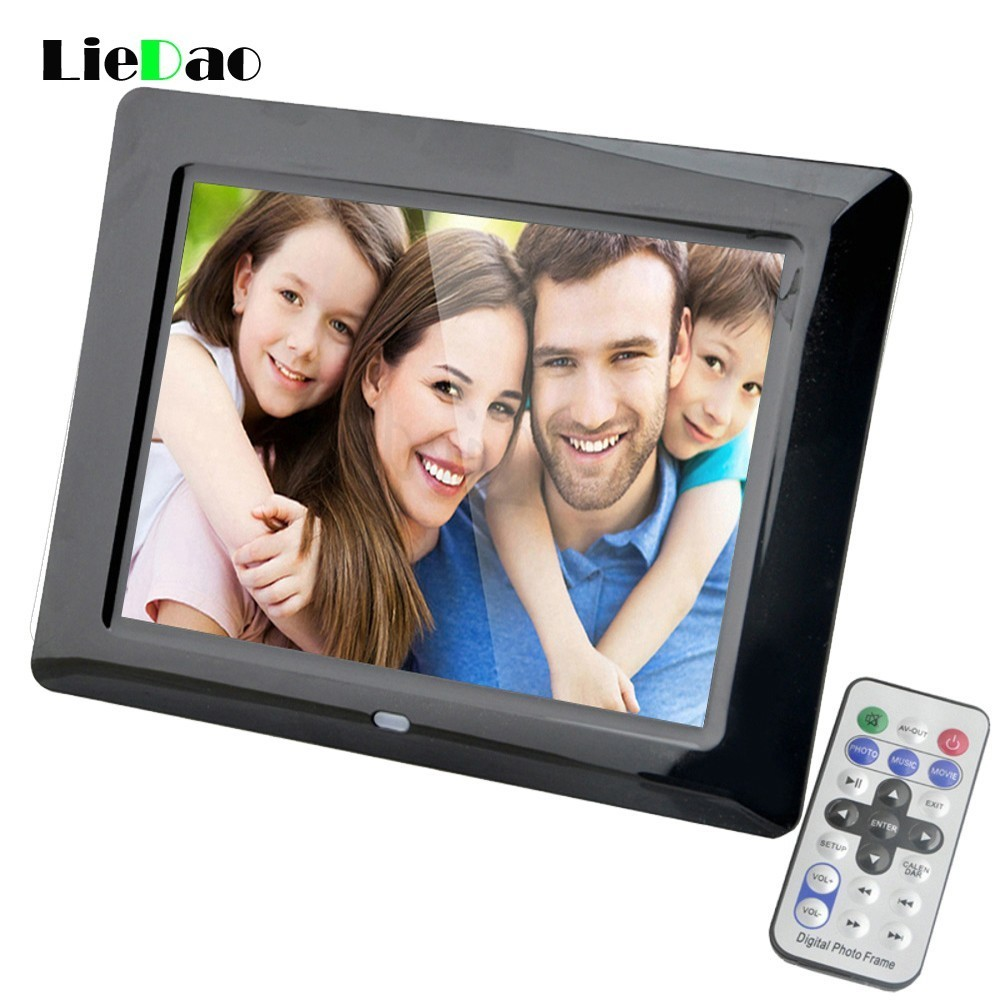 LieDao 8 Inch Digital Photo Frame LED Backlight Electronic Album Picture Music Video Full Function Good