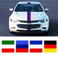 2016 New Car Styling Stickers France German Italy Flag Car Sticker Vinyl Decal Personality Waterproof Accessories
