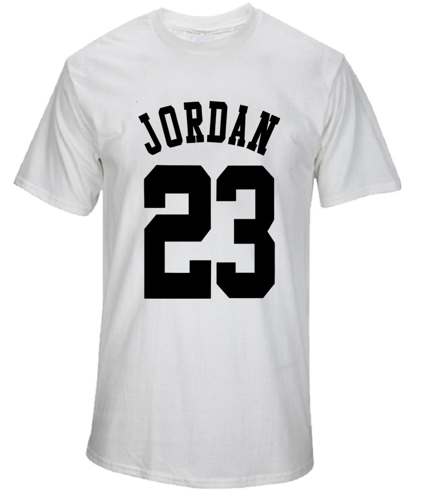 Design t shirt 2017 - 23 Jordan T Shirt 2017 Fashion Printed 70 Cotton Short Sleeve Couple T Shirt Design