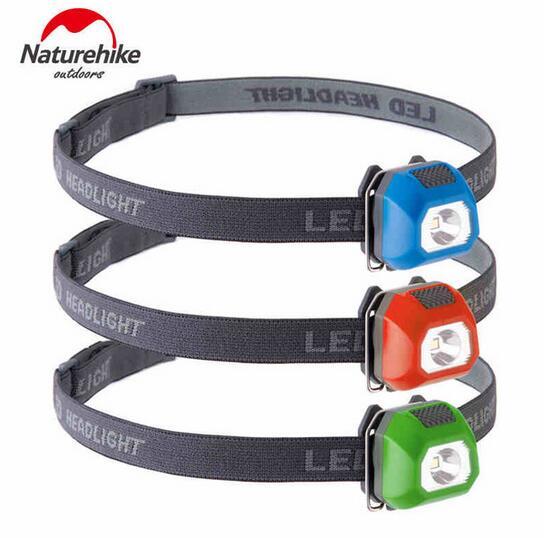 NatureHike Mini Ultra Light Adjustable 3 Modes LED Headlamp Sport Head Light Lamp Waterproof LED Headlight For Camping Hiking