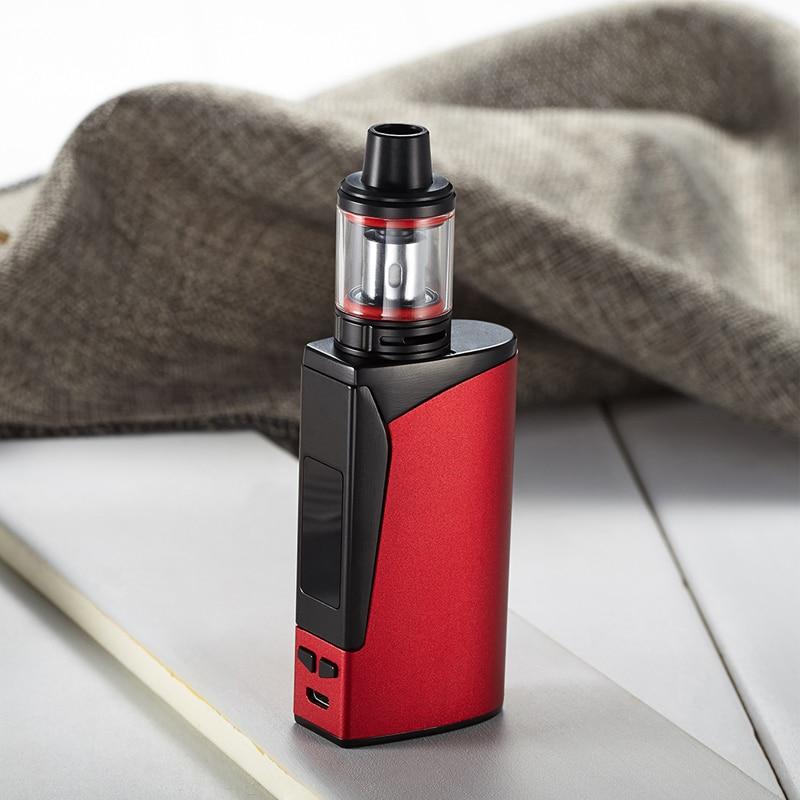 , electronic cigarette 100w box mod kit Huge vapor 2200mah battery 2.5ml tank vape mod vaporizer shisha pen e-cigarettes