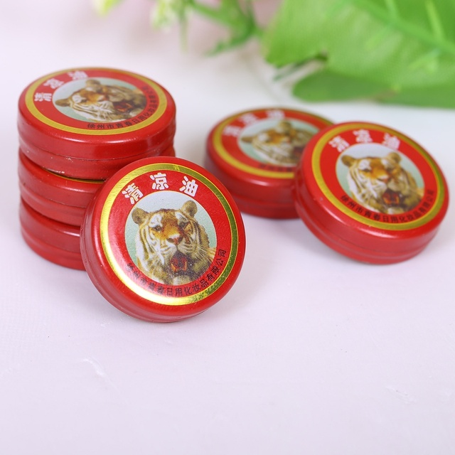 Hottest Chinese Tiger Balm Pain Relief Ointment Massage Red Muscle Rub Aches Cool Cream Essential Oil for Adults