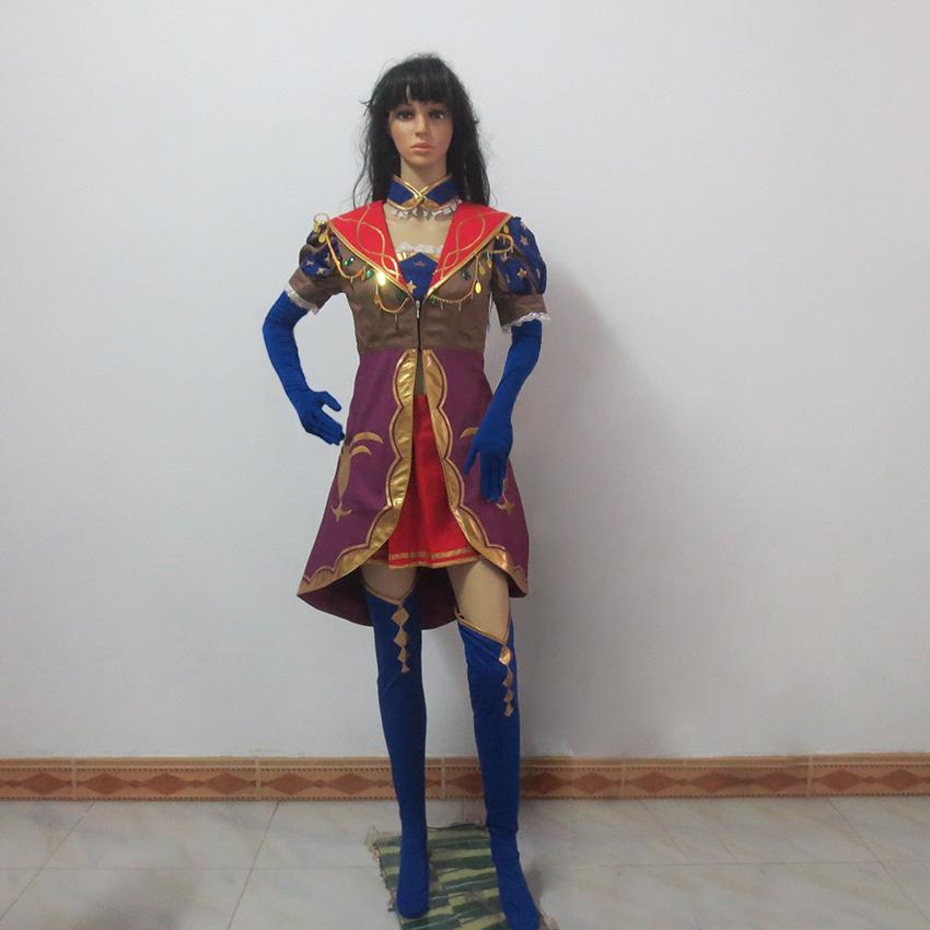 Fate Grand Order Leonardo da Vinci Gothic party dress Cosplay Costume  Custom Made Any Size|dress cosplay|cosplay costumecustom cosplay costume -  AliExpress
