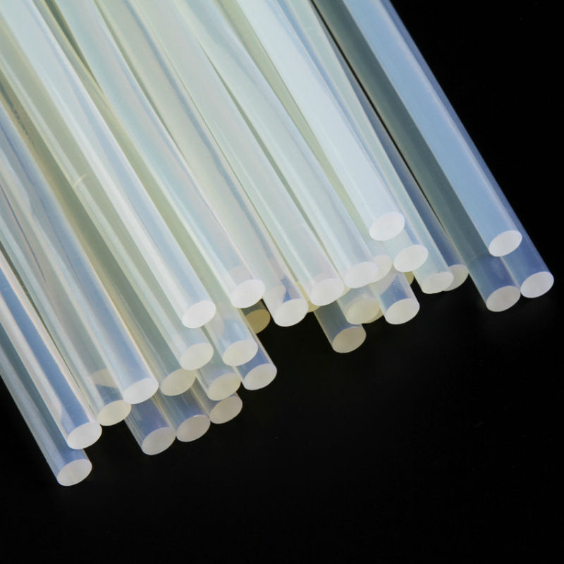 30pcs/lot 11 * 190mm hot melt adhesive stick transparent glue stick DIY jewelry crafts maintenance sticks high viscosity