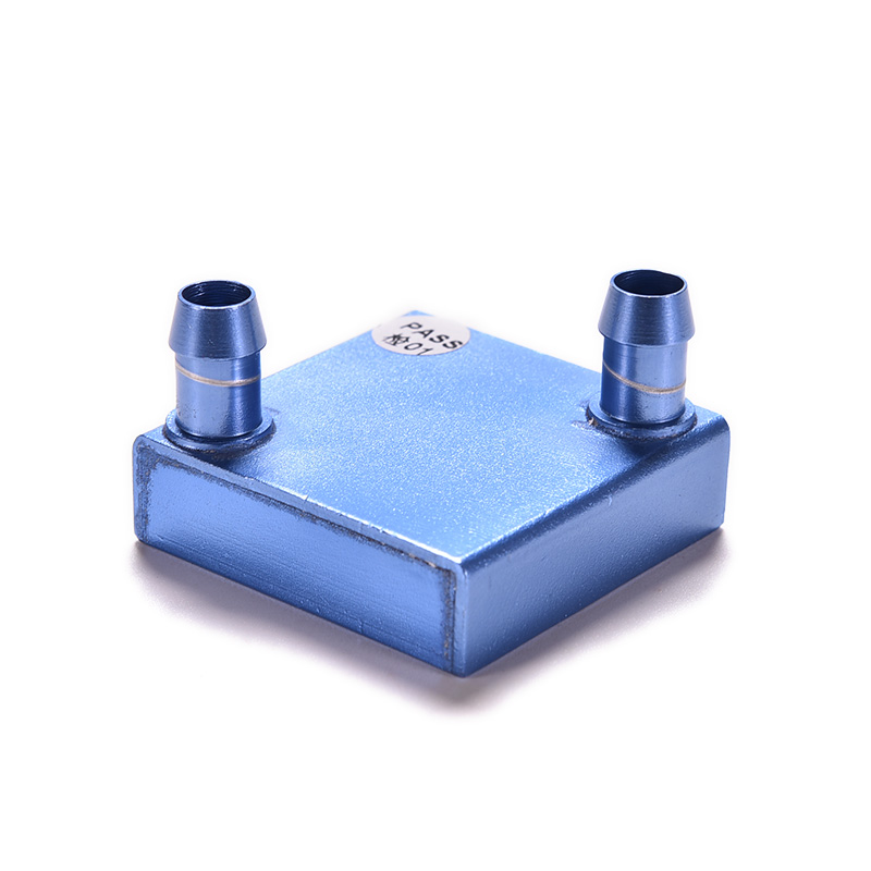 1PC Aluminum PC Laptop CPU Radiator Water Cooling Block for Liquid Water Cooler Heat Sink System 40x40x12mm 40 80 12mm aluminium water cooling waterblock heatsink block liquid cooler for cpu gpu laser head industrial control cabinet