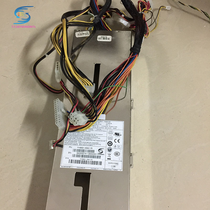 free ship ,pc power supply YH-8651B 650W 1U SERVER REDUNDANT POWER SUPPLY CAGE ,PN:YH8651B-XBA11R power supply case intel server system r1304sposhbn 1u rack system with s1200spo board and 4 x 3 5 hot swapable hdd drive cage 350w fixed power supply