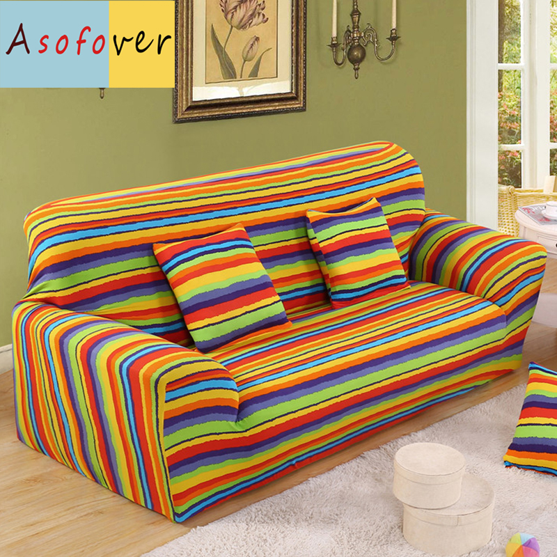 Astounding Us 16 65 50 Off 1Pc Blue Green Yellow Sofa Cover Elastic Sofa Slipcover Stretch Furniture Covers Protector Sofa Covers For Living Room Polyester In Short Links Chair Design For Home Short Linksinfo