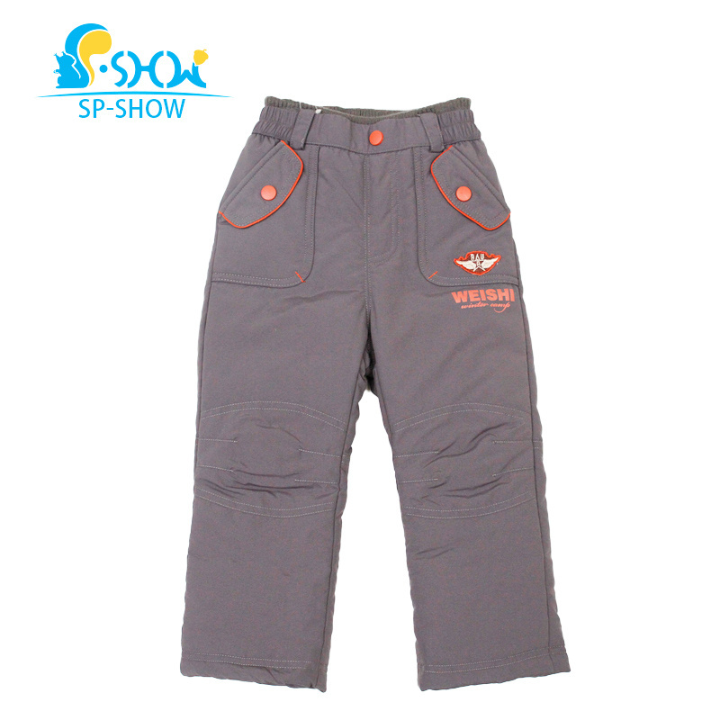 Nouveau pantalon d'hiver en duvet de canard pour enfants épaississant chaud enfants garçons filles 90% pantalon en duvet de canard blanc coupe-vent pour 4-8 âge 62522