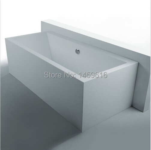 1800 X 800 X 550 MM ANTONIA STONE SOLID SURFACE BATHTUB ARTIFICIAL STONE  BATHTUB FREE SHIPPING1007