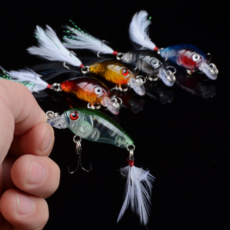 1Pcs 4.5cm 4g Fishing Lures Crank Bait Crankbait Tackle Swim bait wobblers fishing japan Hard Crazy Fish Lure Bass YR-353 3pcs lot 95mm 16g pencil popper fishing lures crankbait crank bait tackle treble hook