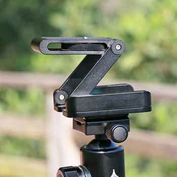 Ulanzi Z Flex Tilt głowica statywu ze stopu aluminium składana płyta szybkiego uwalniania poziomica do montażu na stojaku do telefonów tanie i dobre opinie