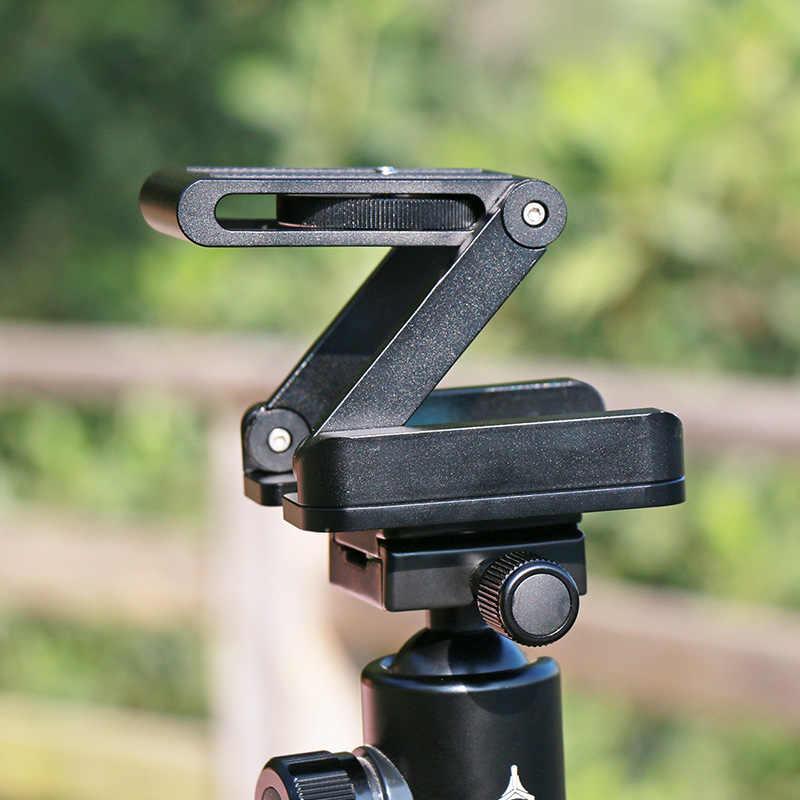 Ulanzi Z гибкий, наклоняющийся штатив головка из алюминиевого сплава складной БЫСТРОРАЗЪЕМНАЯ пластина подставка крепление уровень духов для телефонов камеры