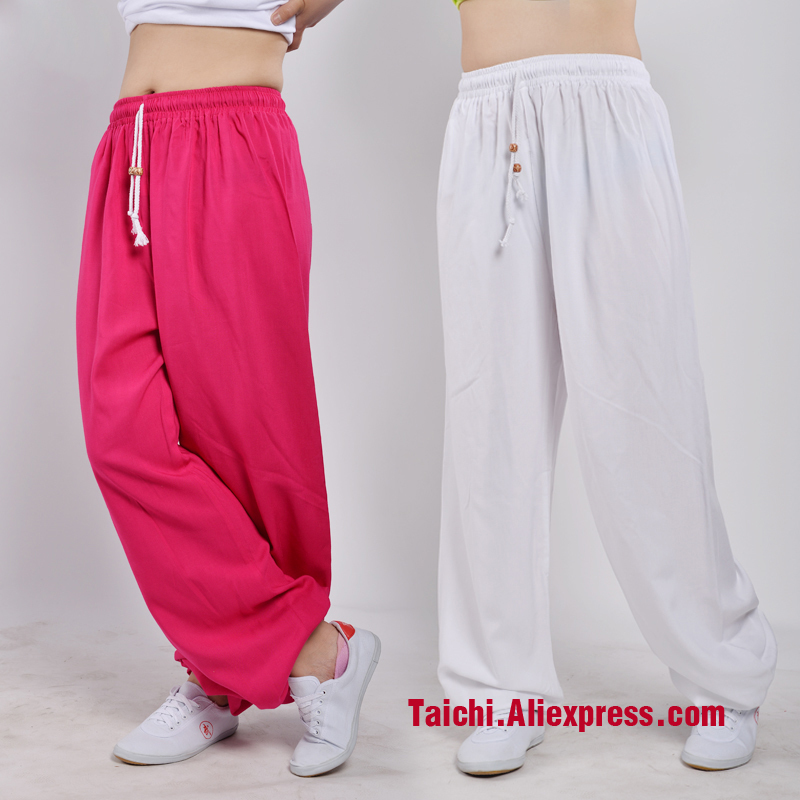 Summer Tai Chi Pants Wushu/Kung Fu/martial Art Pants,Yoga Pants
