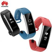 D'origine Huawei Sport Bande 2 pro B29 B19 avec GPS pour Moniteur Fitness Tracker 50 m De Bain Étanche Bluetooth OLED Smartwatch interdiction