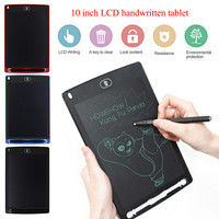 10 Inch LCD Writing Tablet Digital Drawing Tablet Handwriting Pads Portable Electronic Tablet Board With Pen