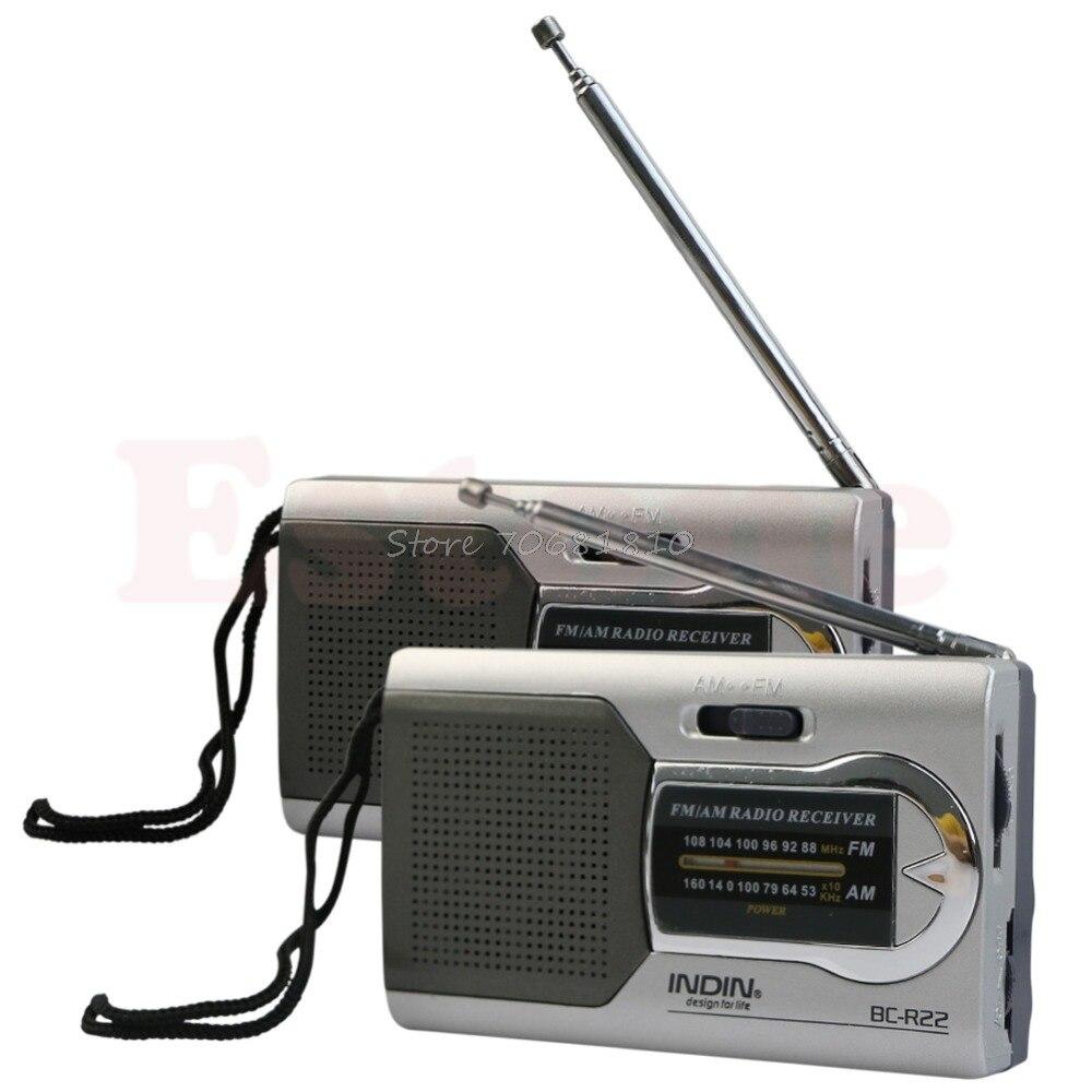 Unterhaltungselektronik Tragbares Audio & Video Genial Universelle Schlanke Am/fm Mini Radio Welt Empfänger Stereo Lautsprecher Drop Verschiffen Bequemes GefüHl