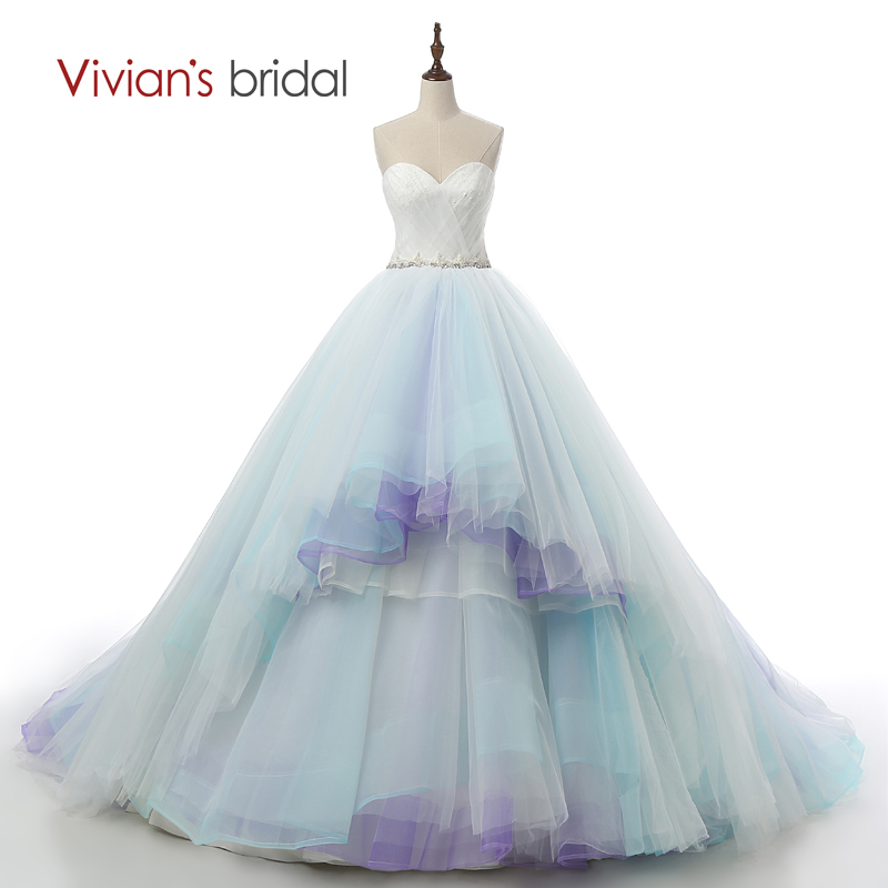 Blue And White Ball Gowns Vivian's Br...