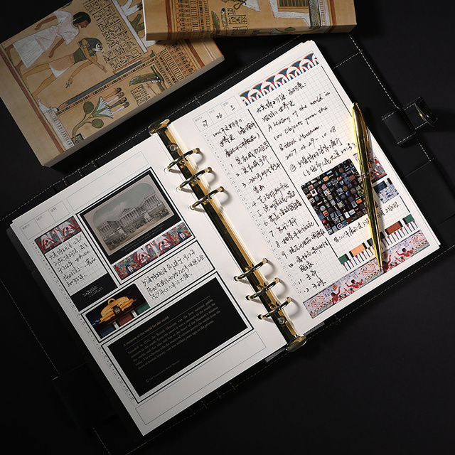 Notebook Stationery Gift Set Stationery Tools Notebook Pen Box Kids Gift  Set Luxury Office Accessories Stationery