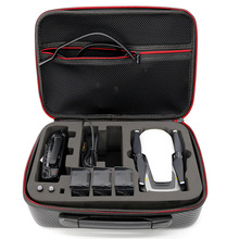 все цены на Drone Accessory Waterproof Carry Case Storage Bag for DJI Mavic Air Quadcopter Body + Battery + Remote Control Accessories box онлайн