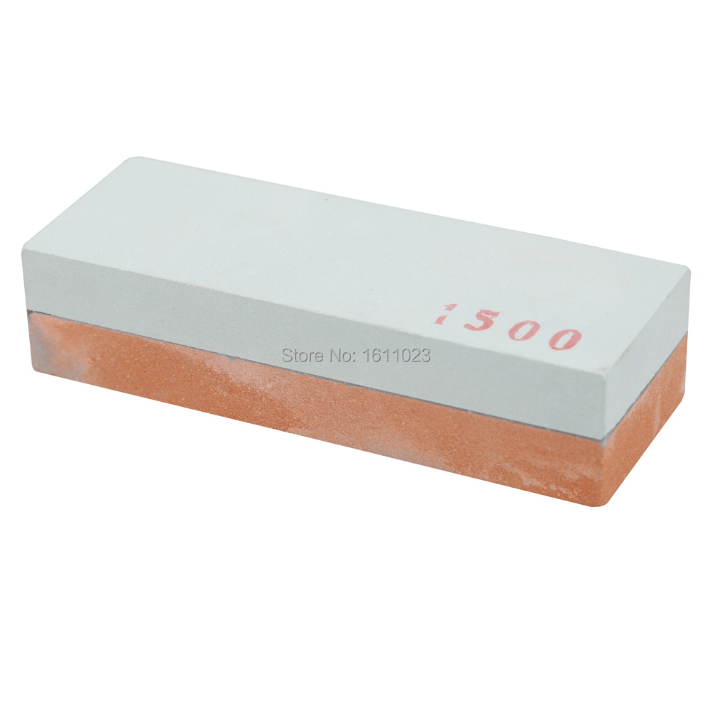 400 1500 Double Side Knife Razor Sharpening Stone Whetstone Polishin Two Sides E2shopping
