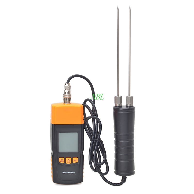High Accuracy Digital Wood Moisture Meter Humidity Detector Tester GM620 Adopts SCM Technology Adjustable For 4 Tree Species portable pin type wood moisture meter mc7806