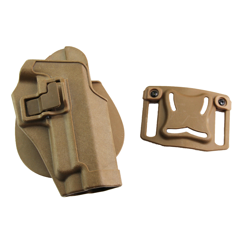 CQC Tactical Belt Gun Holster Army Combat Outdoor Pistol Belt Holster Fit For SIG SAUER P220 P226 P228 P229