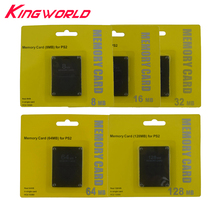 100pcs High Quality 8MB 16MB 32MB 64MB 128MB Memory Card for Sony Playstation 2 for PS2