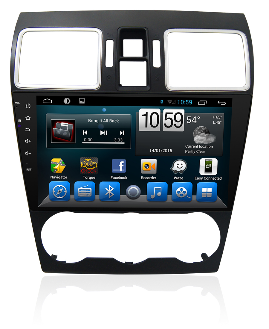 Navirider car dvd player for Subaru XV 2015-2016 octa core android 8.1.0 car gps multimedia head unit stereo tape recorderNavirider car dvd player for Subaru XV 2015-2016 octa core android 8.1.0 car gps multimedia head unit stereo tape recorder