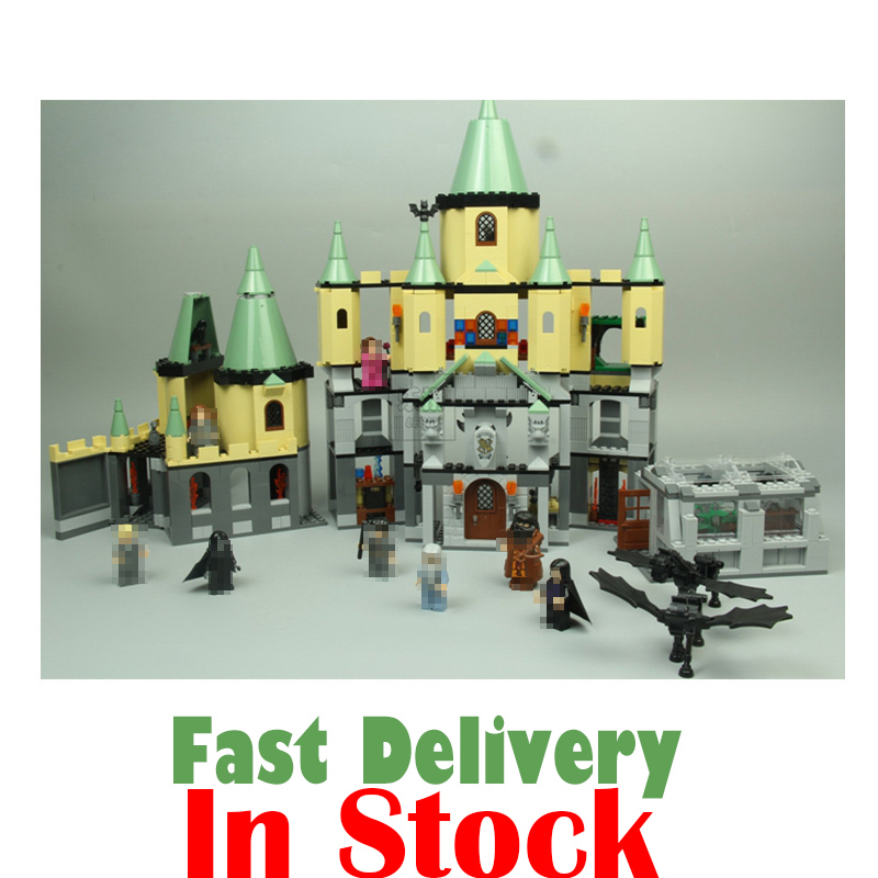 Lepin 16029 1033Pcs Movie Series The magic Hogwort Castle Model set Building Blocks Bricks Educational Toys for Children 5378 lepin 07052 1047pcs batcave break in set the genuine model movie building blocks bricks educational toys for children 70909
