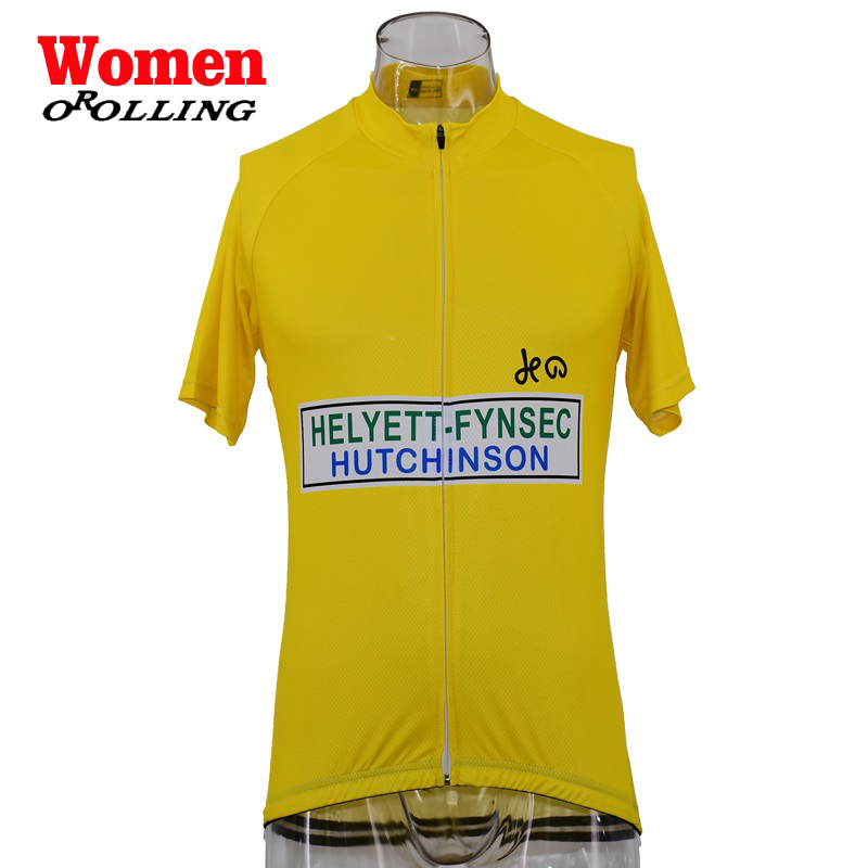 New Women RETRO CLASSICAL Maillot Team Pro Cycling Jersey Customized Road  Mountain Race Top OROLLING Multi-in Cycling Jerseys from Sports    Entertainment on ... 68e6e3a6a