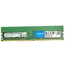 Ram original crucial ddr4 4gb 8gb 16 gb ddr4 2133hmz 2400hmz 2666mhz PC4-19200 288 pinos para a memória do desktop