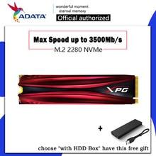 ADATA XPS GAMMIX S11 Pro M.2 SSD M2 SSD жесткий диск HD SSD 1 ТБ 256 GB 512 GB твердотельный жесткий диск HDD NVMe PCIe 2280 для ноутбука