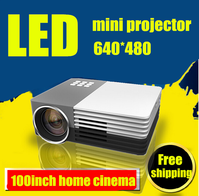 ФОТО Hot sale!2014 Newest  Mini Pico portable proyector Projector AV VGA A/V USB & SD with VGA HDMI Projector projetor beamer