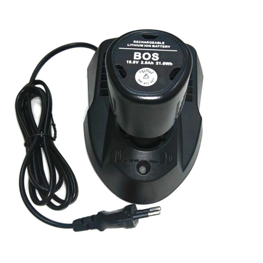 Chargeur de batterie Lithium-ion 10.8-12 V pour Bosch BAT411/BAT412/BAT413/2 607 336 Durable