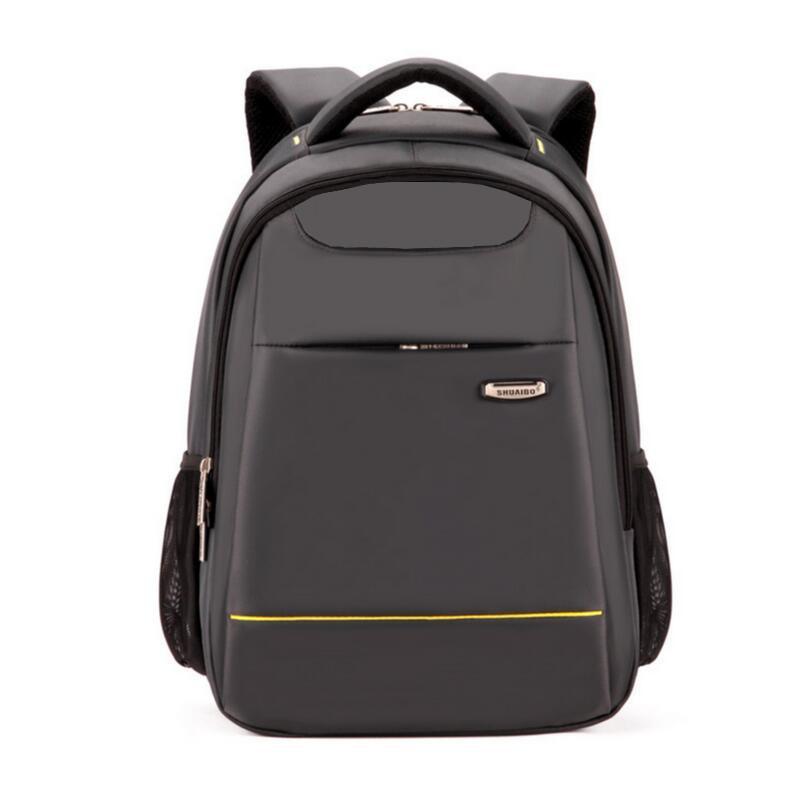 Prix pour Haute qualité garçons sacs d'école collège sac à dos étanche 15 pouce sac d'ordinateur portable hommes sacs de voyage cartable bagpack cadeau d'anniversaire